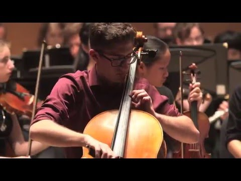 Tufts Youth Philharmonic - Elgar Cello Concerto - Iverson Eliopoulos