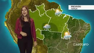 Previsão Norte - Chuva moderada a forte