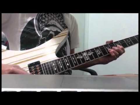 HKT48 - 大人列車(Otona Ressha) guitar solo cover