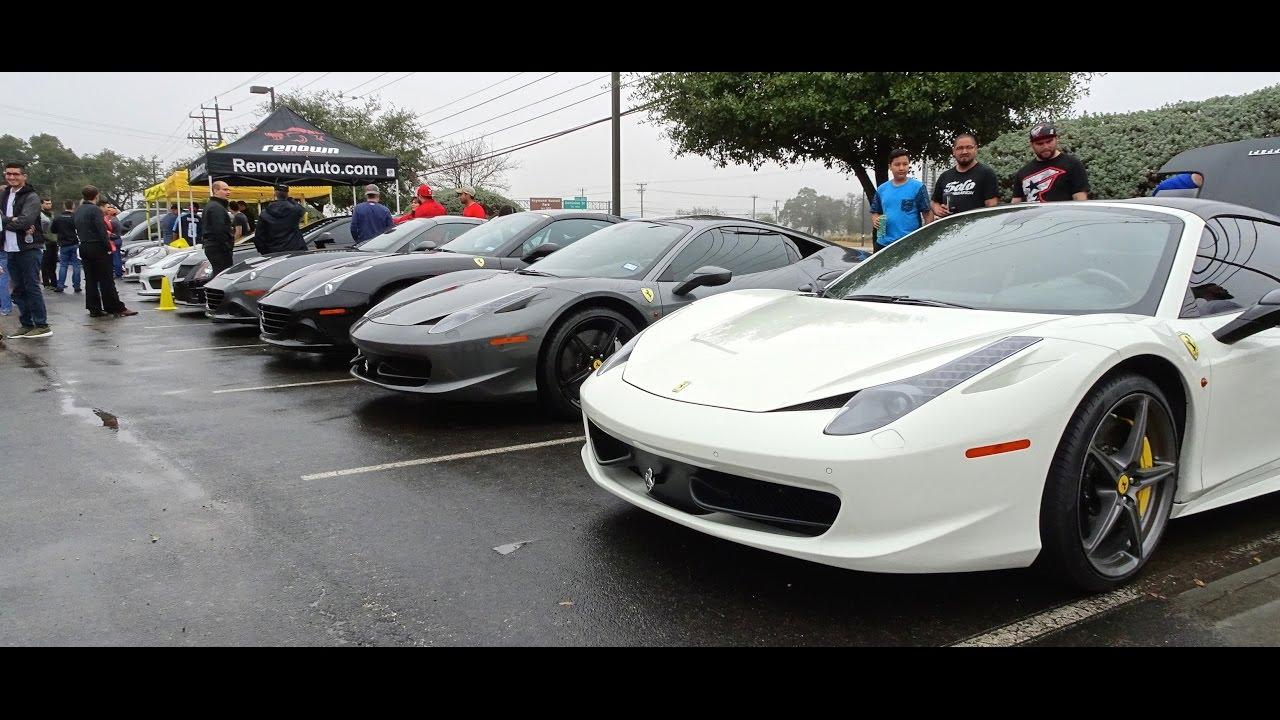 San Antonio Cars And Coffee Jan YouTube - San antonio car show