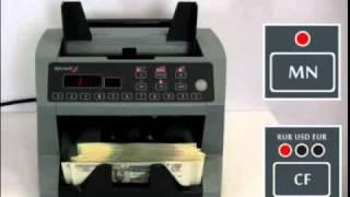 видео Счетчики банкнот для фасовки денежных средств