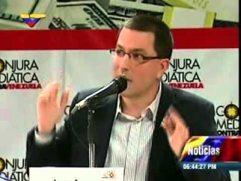 Foro Conjura Mediática: Palabras de cierre del Vicepresidente Jorge Arreaza
