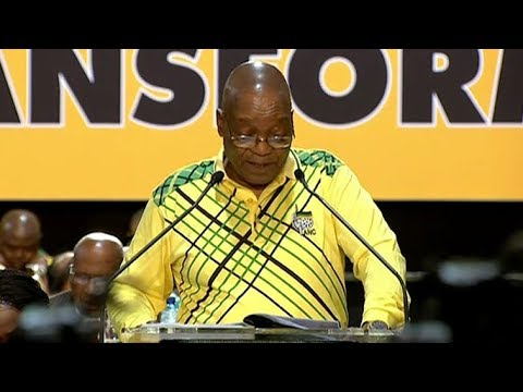 President Zuma opens the 54th ANC National Conference