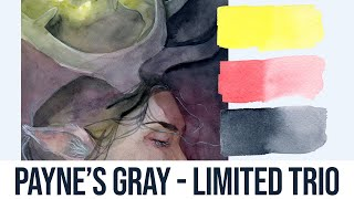 Payne's Gray!! Limited Palettes #4 - Watercolor Painting