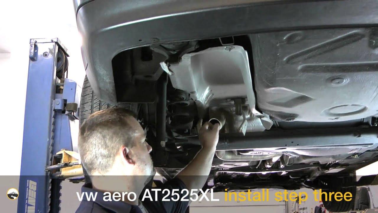 Aero Exhaust 2525XL Muffler Install: 2004 VW Jetta TDI - YouTube