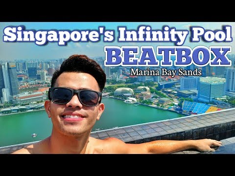 Neil Llanes | Infinity Pool Beatbox in Marina Bay Sands