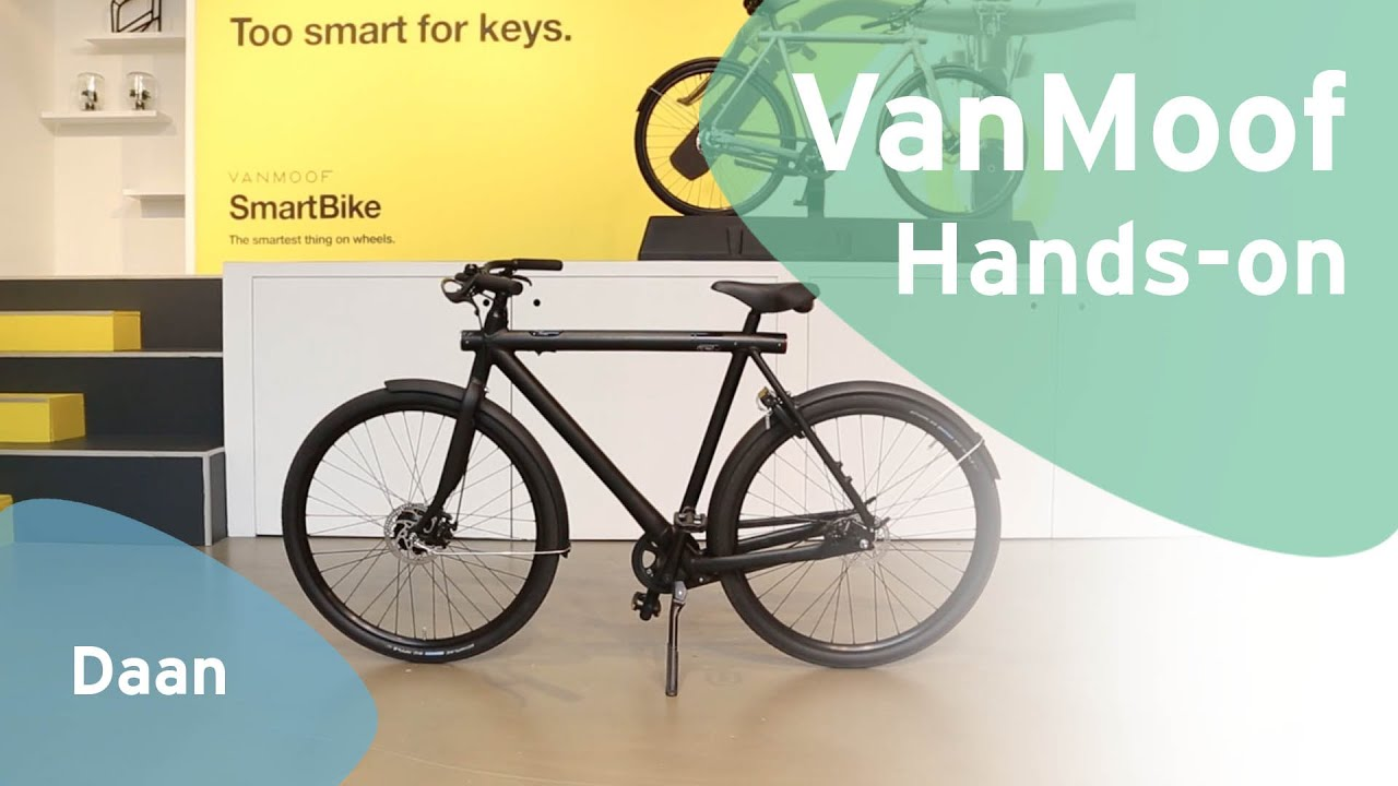 VanMoof smartbike hands-on(Dutch)