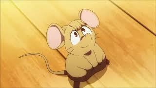 Little Witch Academia - Akko transforms into Mouse 1