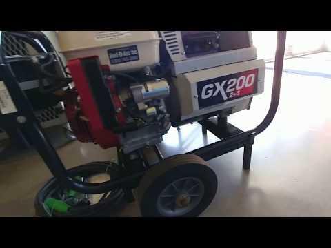 Red-D-Arc GX200 2+4 Gas Engine Welder