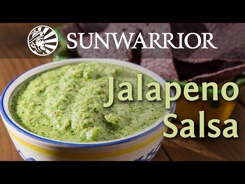 Quick and Easy Salsa Recipe | Jalapeno Salsa | Sunwarrior
