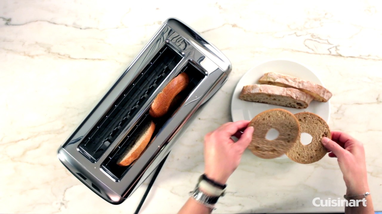 The Bakery Artisan Bread 2 Slice Toaster Demo Cpt 2400