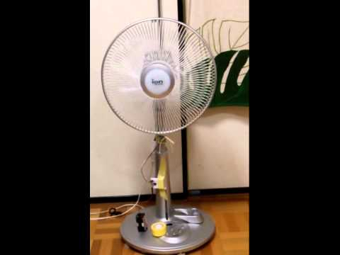 Fan with PIC12F1822 + Serve