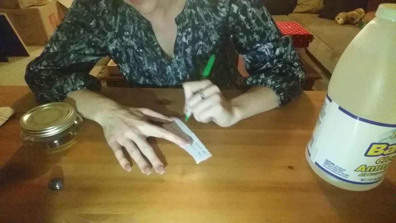 Traditional Hoodoo Ammonia Jar - Reverses Situations