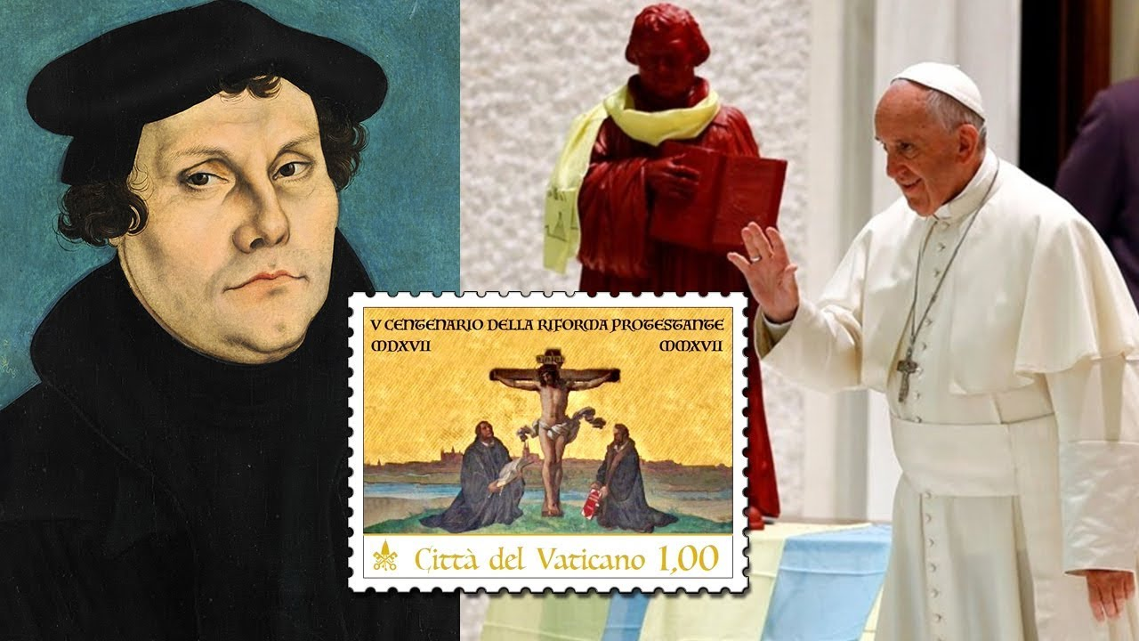 Image result for martin luther statue in vatican