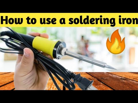 how to use soldering iron youtube. Black Bedroom Furniture Sets. Home Design Ideas