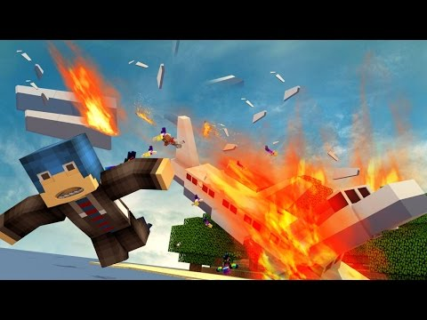 Minecraft | Crash Island - THE PLANE CRASH! (Minecraft Zombie Survival) #1