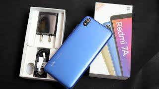 Redmi 7A 2GB 32 GB Unboxing | Indian Retail Unit | Blue Colour | Sale Price Rs.6000 | Flipkart