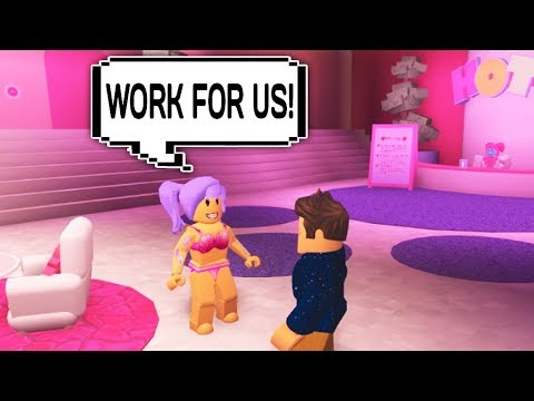 GIRLS ONLY HOTEL IN ROBLOX