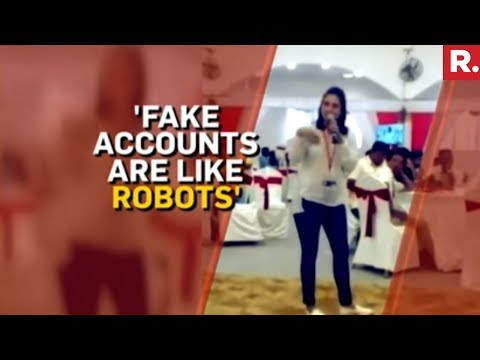 Video Of 'Fake Accounts' Edited Out Of Context - Divya Spandana Ramya
