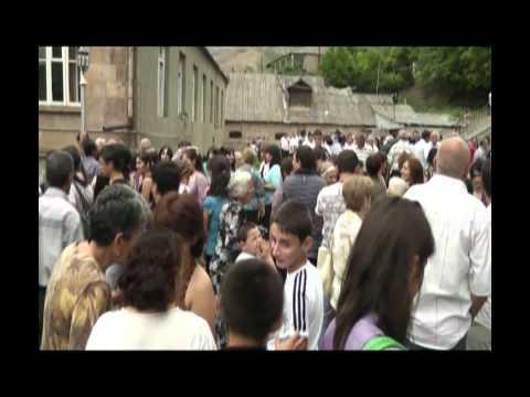 село Мовсес  2011год 7 августа