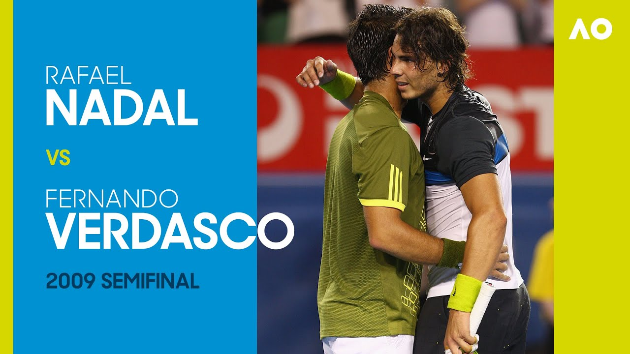 Rafael Nadal v Fernando Verdasco - Australian Open 2009 Semifinal | AO Classics