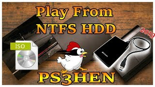 How To Play PS3 Game ISO On NTFS HDD PS3HEN 2019