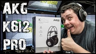 Unboxing & Reviewing AKG K612 Pro Reference Class Headphones