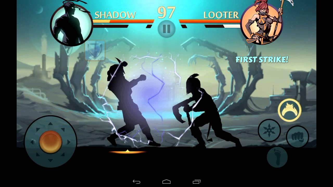 Shadow fight 2 - shogun's katana( boss weapon)