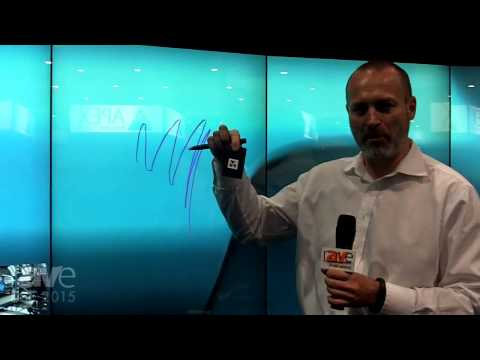 DSE 2015: MultiTaction Details MultiTaction Curved iWall