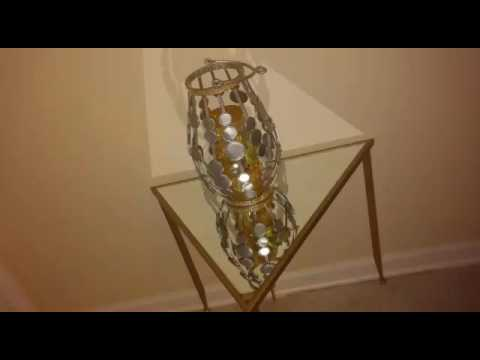 DIY Gold Accent Table - YouTube