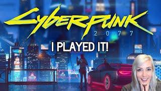 Cyberpunk 2077 Gameplay Talkthrough | HANDS-ON PREVIEW