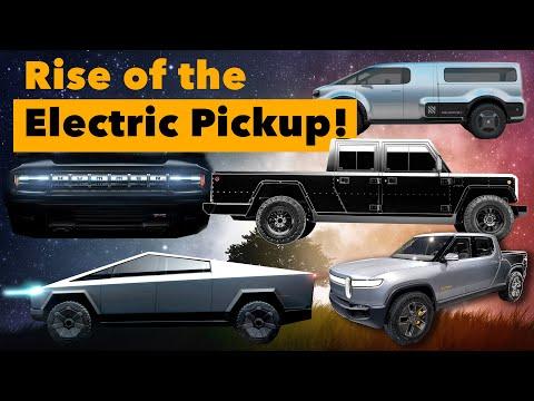 Cybertruck & The Rise of Electric Pickup Trucks!