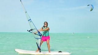 How to Windsurf - My First Time Windsurfing - Beginner Lesson in Turks and Caicos Islands