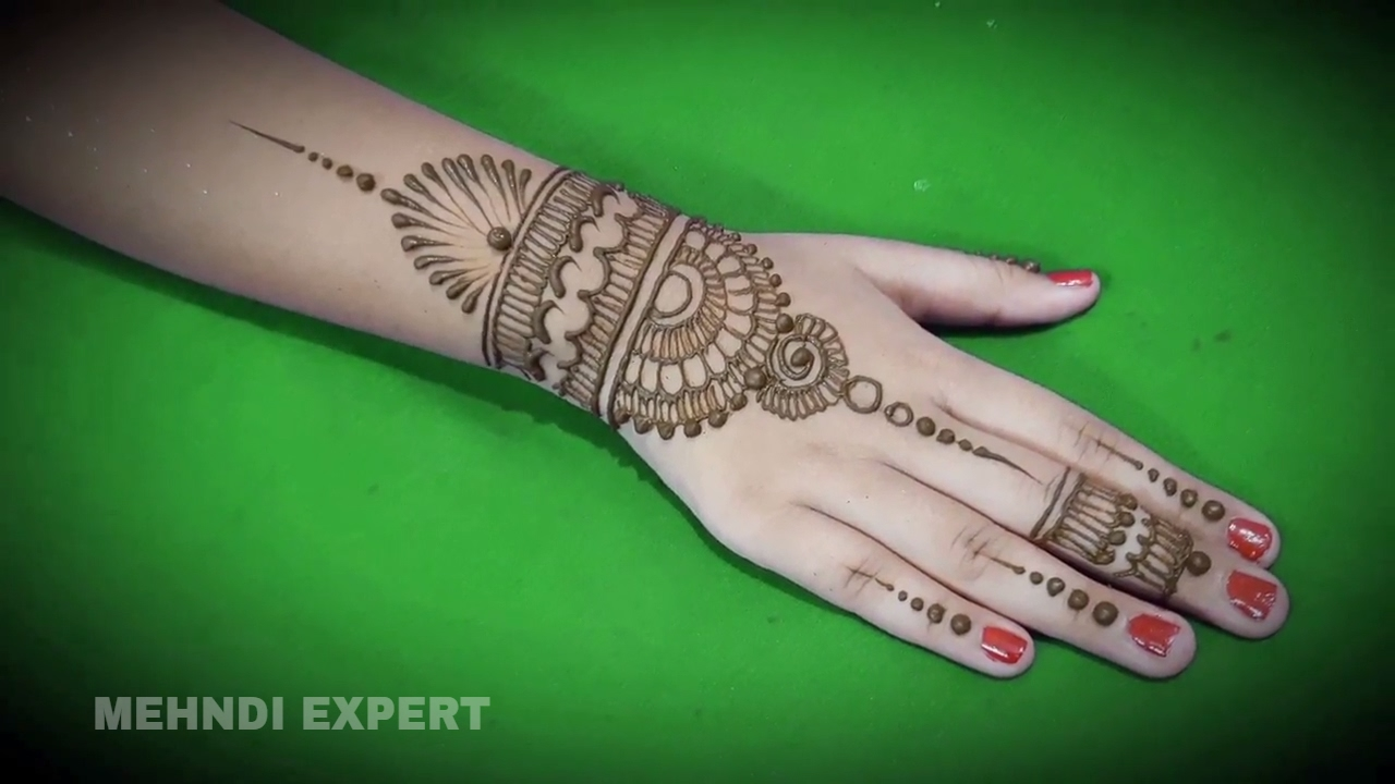 Latest Stylish Beautiful Mehndi Designs For Hands Easy Unique