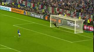 Пенальти Дзадзы в ворота Германии. [ЧЕ-2016]