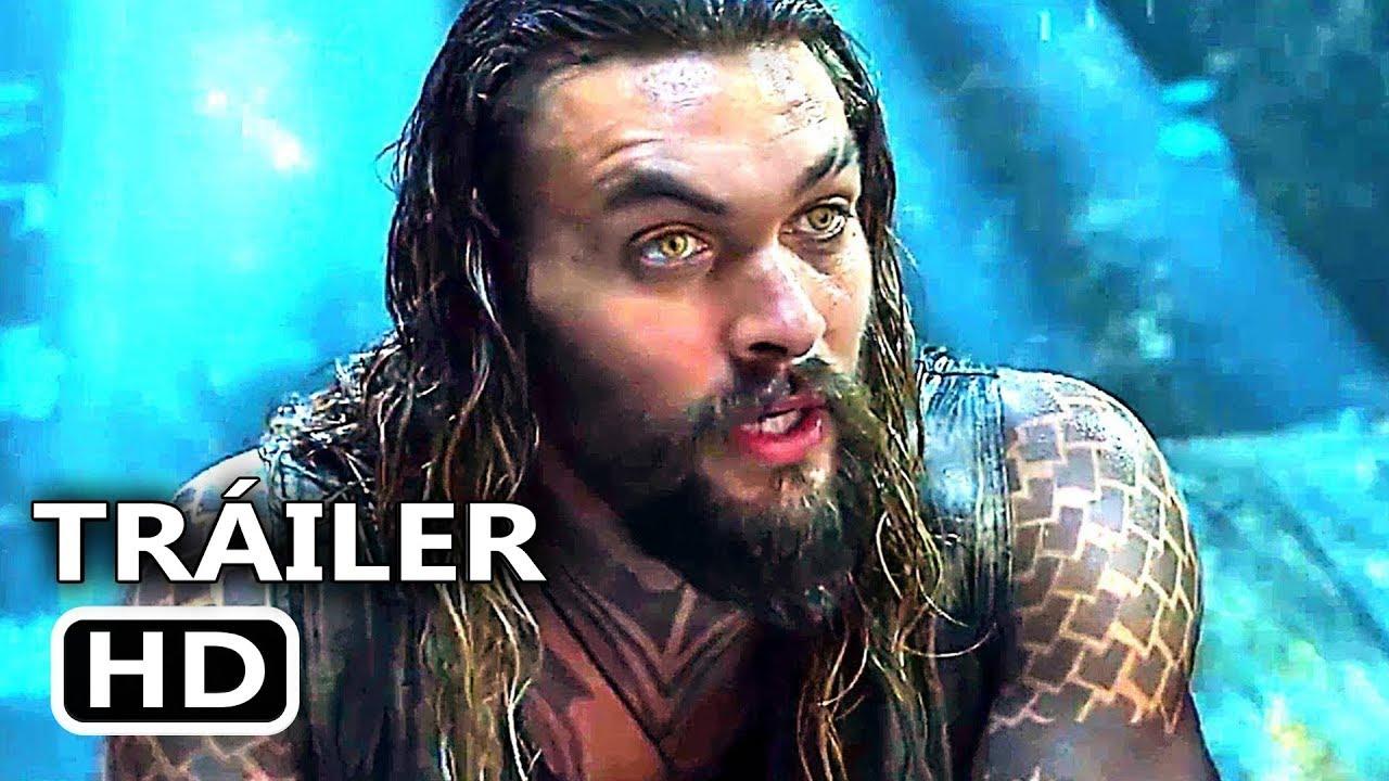Aquaman Tráiler Español Latino Subtitulado Final 2018 Jason Momoa Youtube