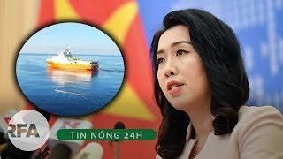 Tin nóng 24H   Tàu Hải Dương 8 rút, rồi lại vào, Bộ ngoại giao Việt Nam đành lại phải lên tiếng