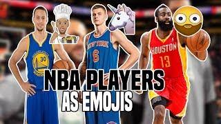 NBA PLAYERS AS EMOJIS! | KOT4Q