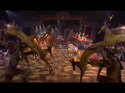 THE LION KING on 'Dancing with the Stars'
