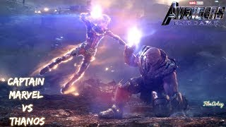 Download Avengers: Endgame | Captain Marvel & Iron Man Fight Thanos Scene | Must Watch Mp3 and Videos