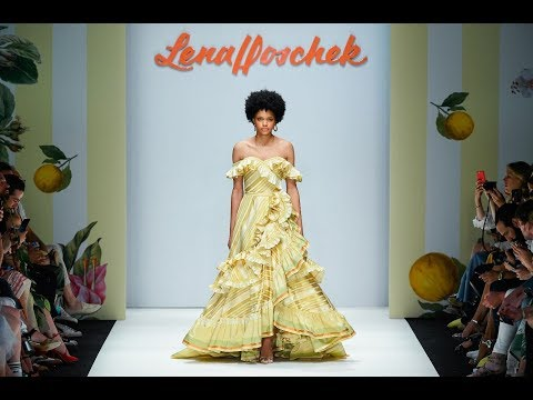 "LENA HOSCHEK MERCEDES-BENZ FASHION WEEK BERLIN SS19 - Runway Show ""Tutti Frutti"""