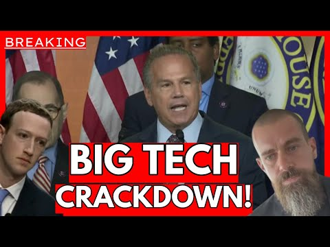 WE WILL TAKE DOWN THESE MODERN DAY ROBBER BARONS: Big Tech CRACKDOWN Begins!