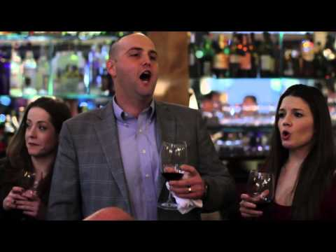 Opera Flash Mob at NYC Restaurant