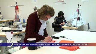 Yvelines | Equalis, une association au coeur de huit chantiers d'insertion dans les Yvelines