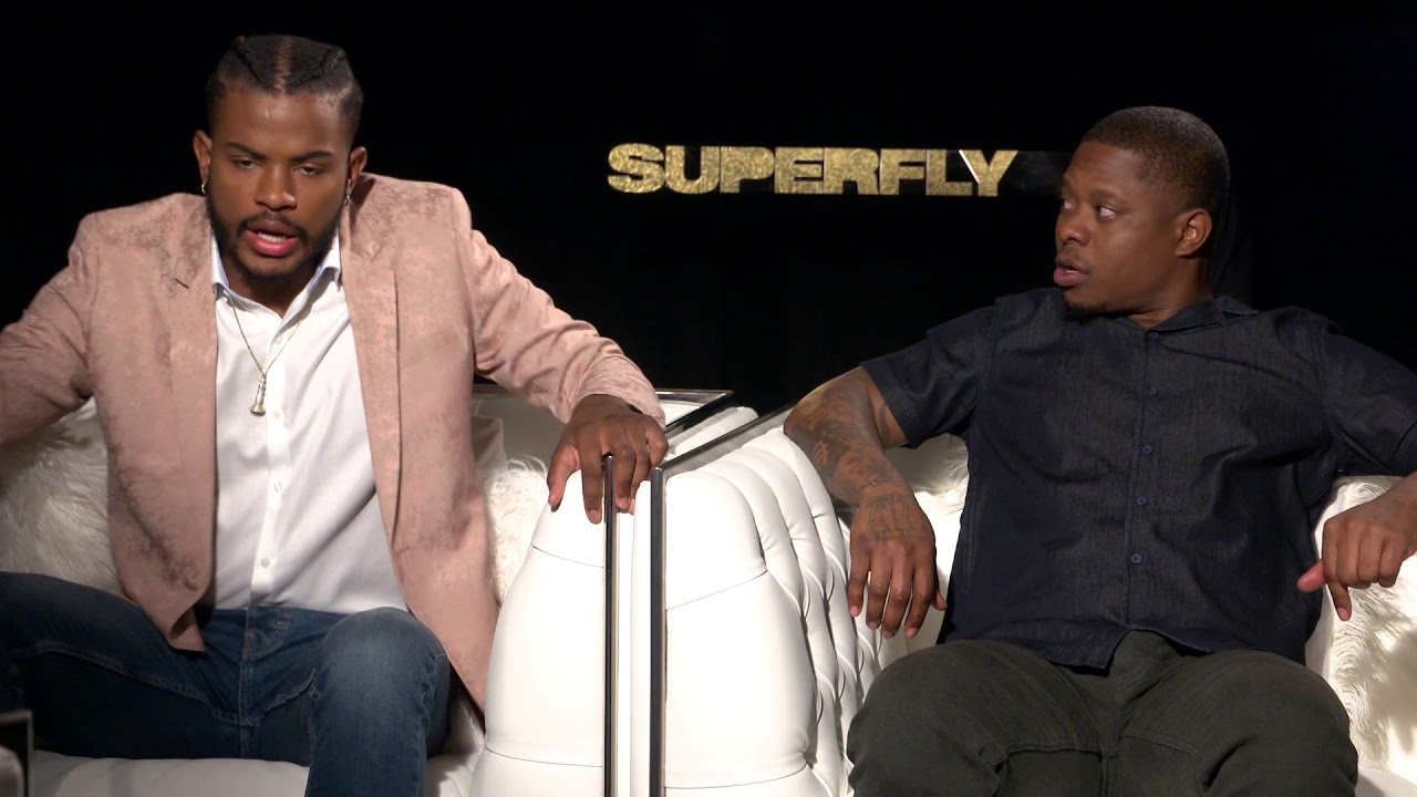 a3582c075440f SUPERFLY Interview with Trevor Jackson   Jason Mitchell - YouTube