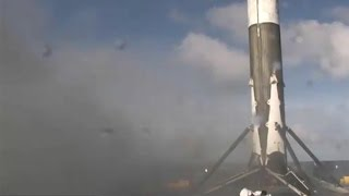SpaceX Falcon 9 landing, 27 May 2016