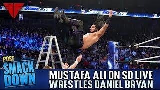Mustafa Ali Appears On Smackdown Live, Confronts Daniel Bryan