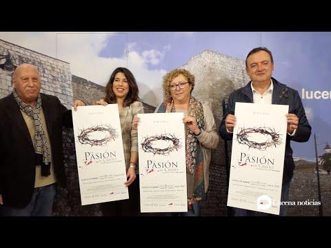 """VÍDEO: El 20 y 21 de marzo el Auditorio acoge la puesta en escena de """"La Pasión de Cristo"""" según Lucena"""