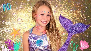 Magical Mermaid Makeup and Costume with Makeup Maker!