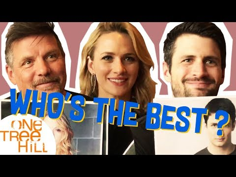 One Tree Hill : James Lafferty, Shantel VanSanten et Paul Johansson jouent à Who's the best